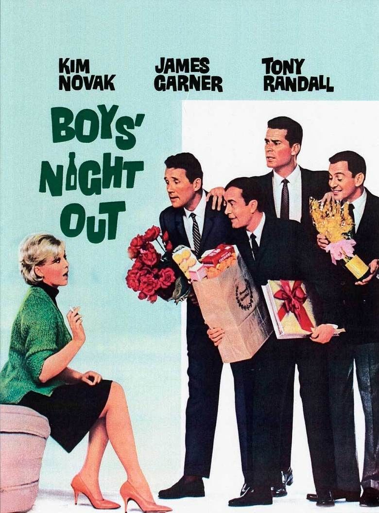Boys Night Out (film) movie poster