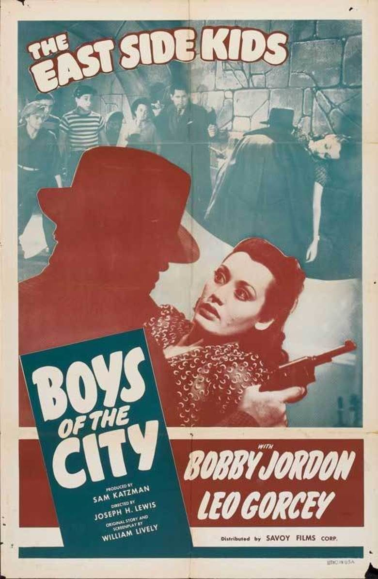 Boys of the City movie poster