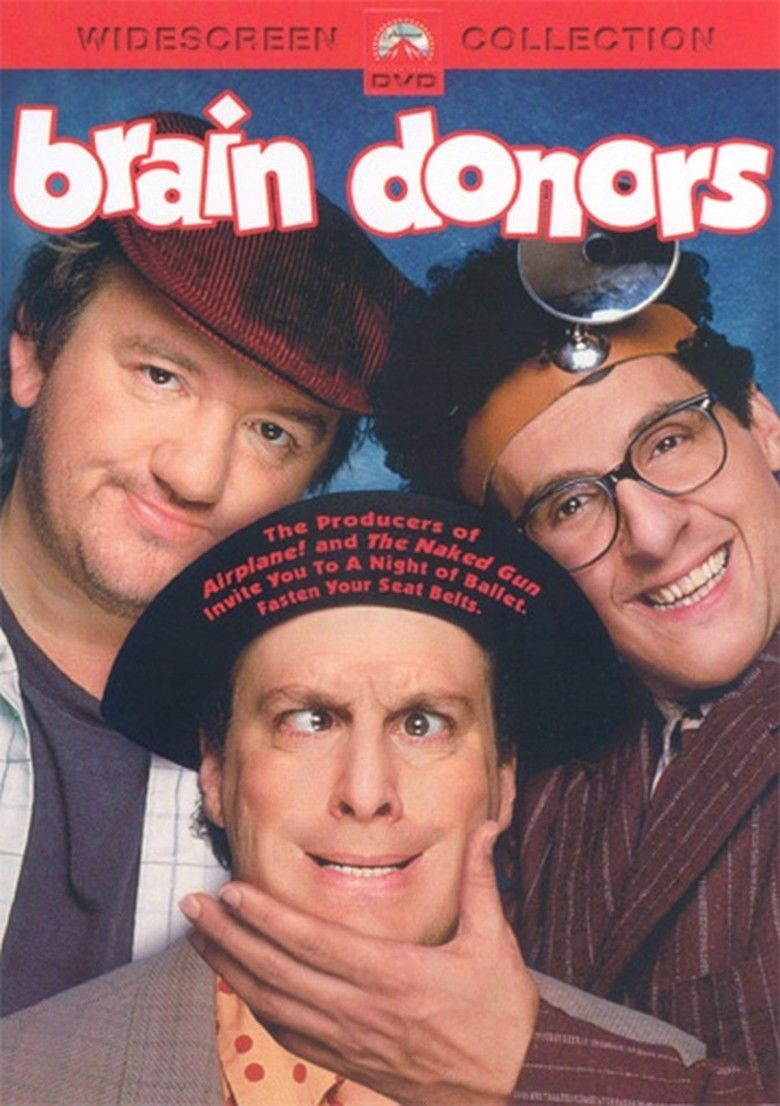 Brain Donors movie poster