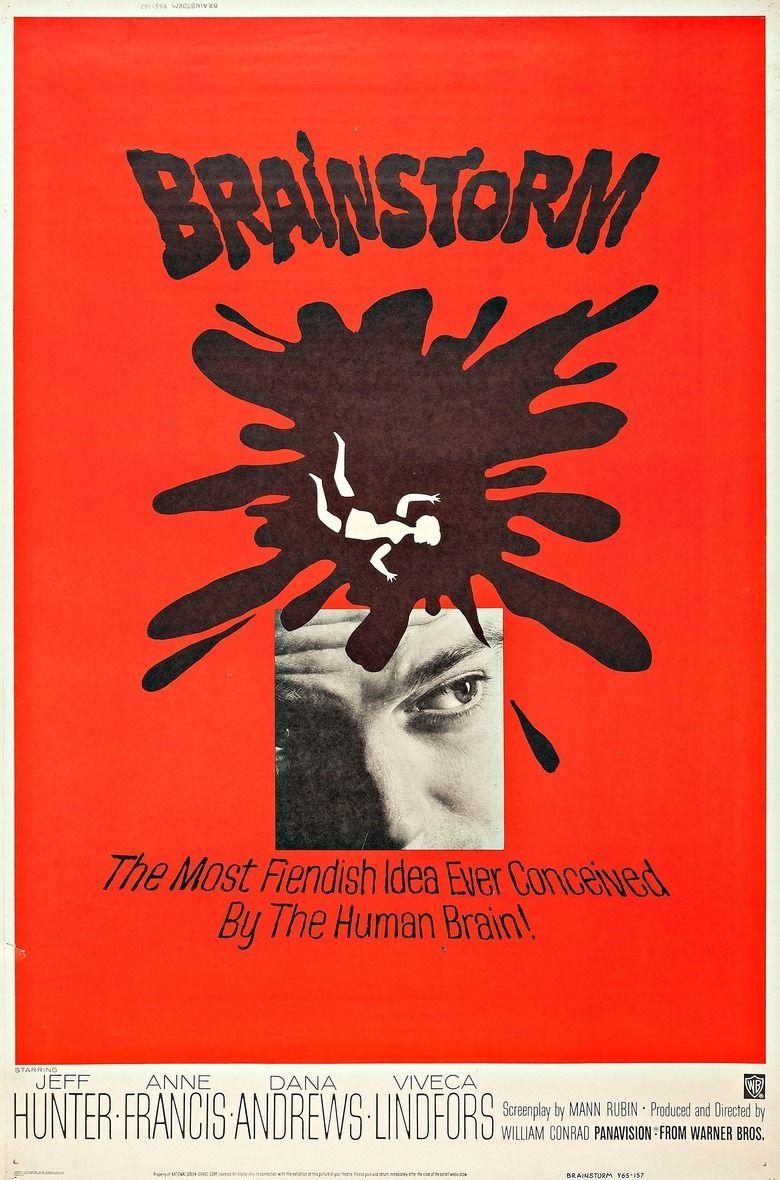 Brainstorm (1965 film) movie poster