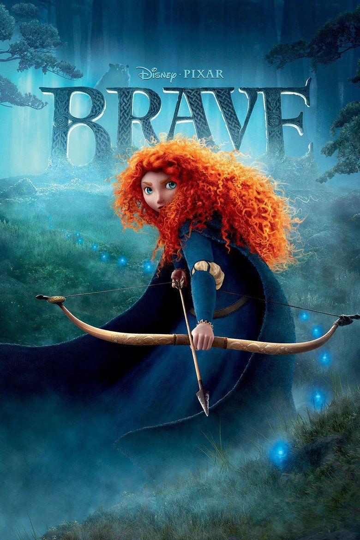 Brave (2012 film) movie poster