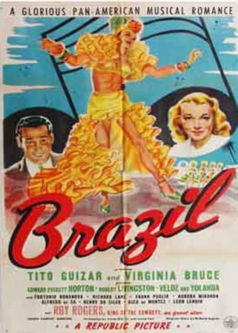 Brazil (1944 film) movie poster