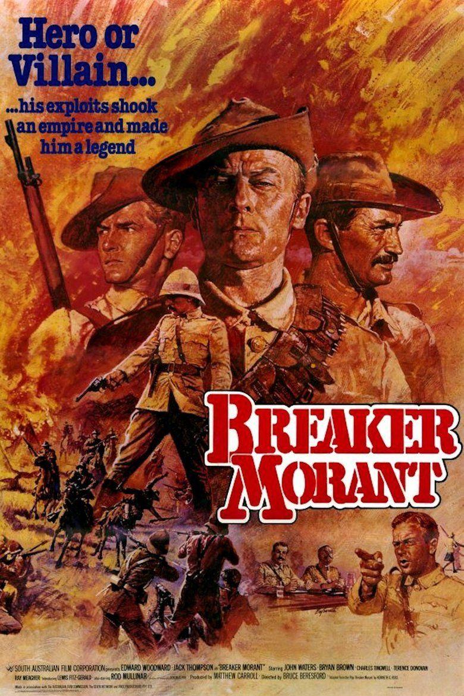 Breaker Morant (film) movie poster