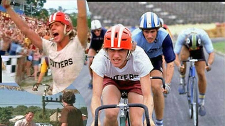 Breaking Away movie scenes