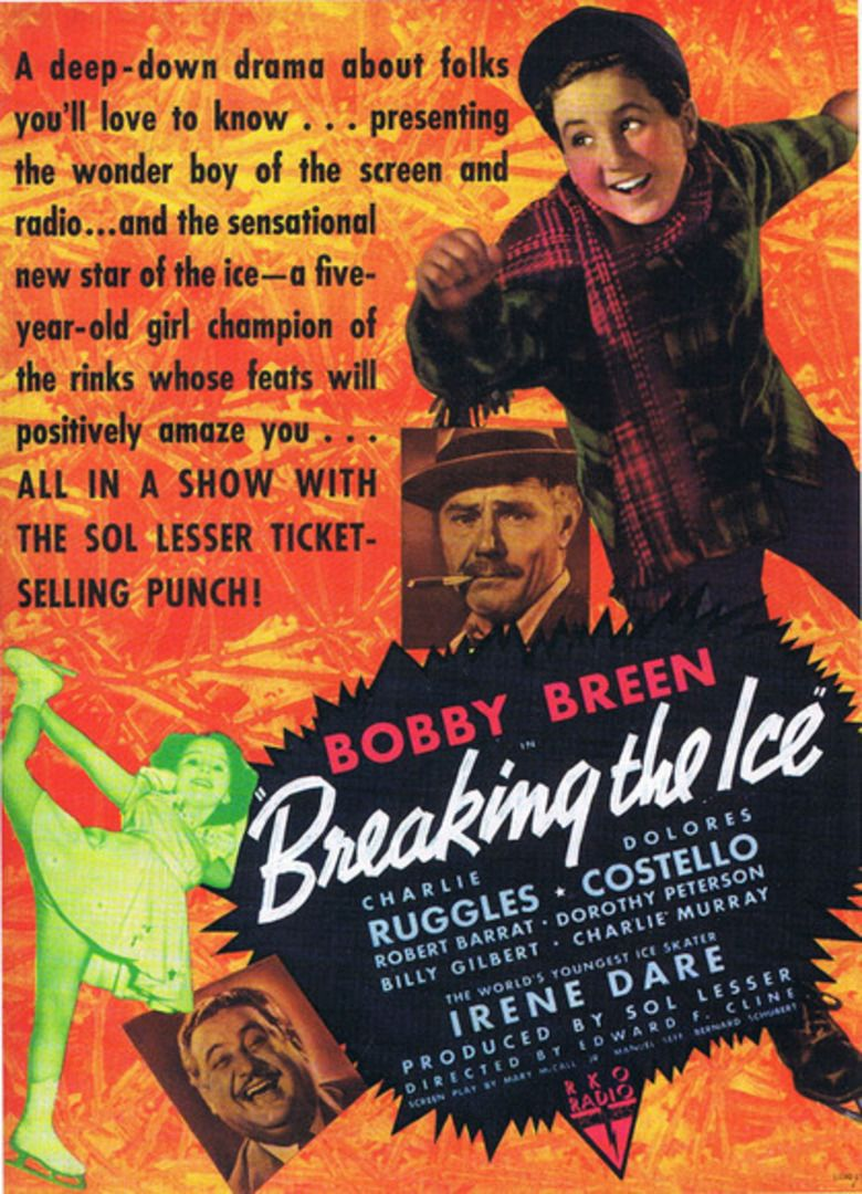 Breaking the Ice (1938 film) movie poster