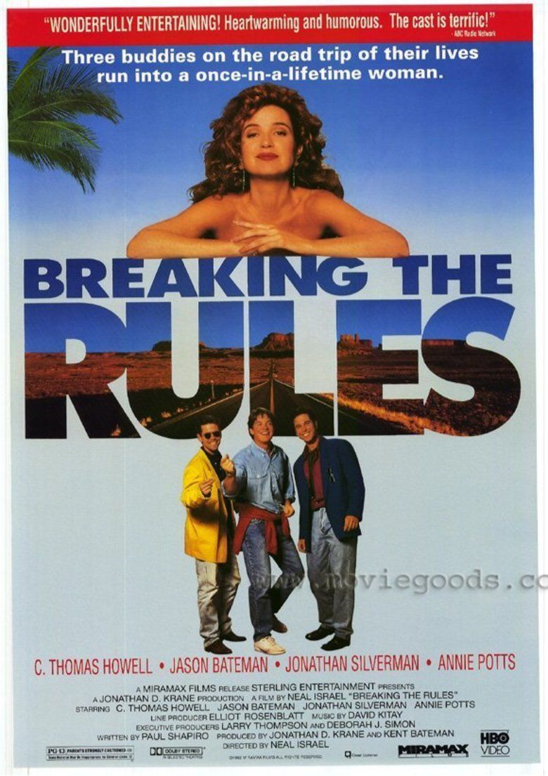 Breaking the Rules (film) movie poster