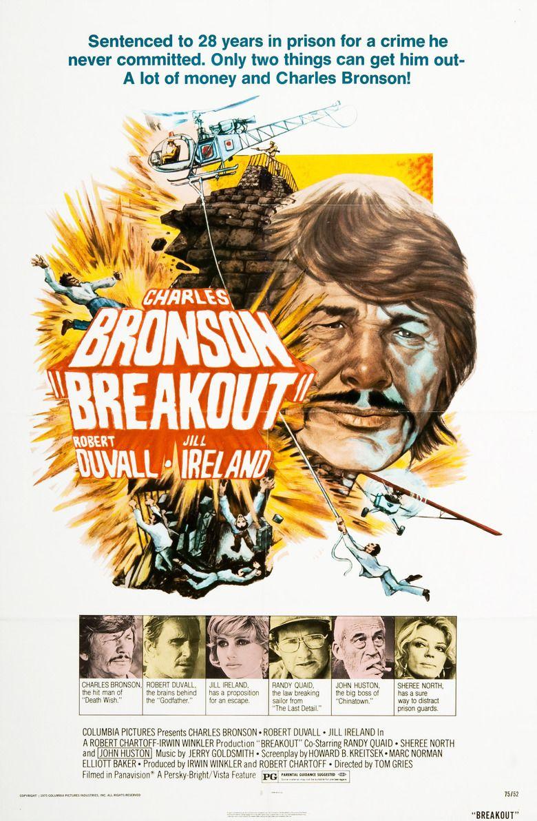 Breakout (1975 film) movie poster