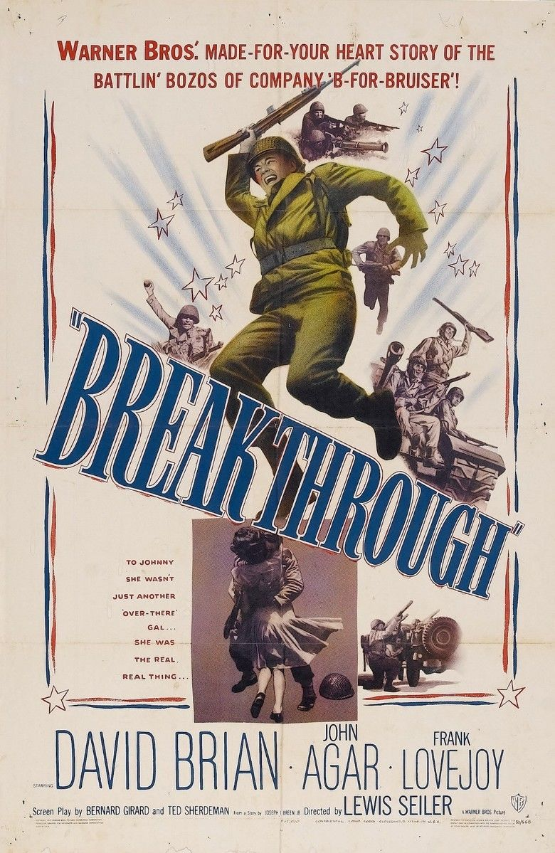 Breakthrough (1950 film) movie poster