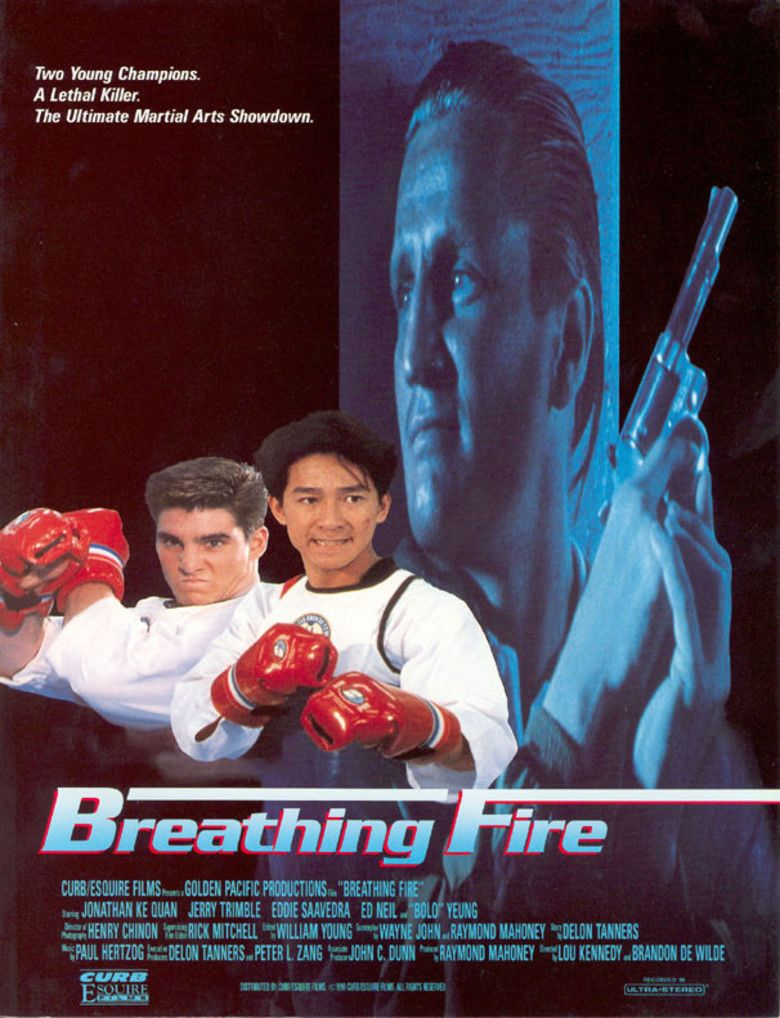 Breathing Fire movie poster