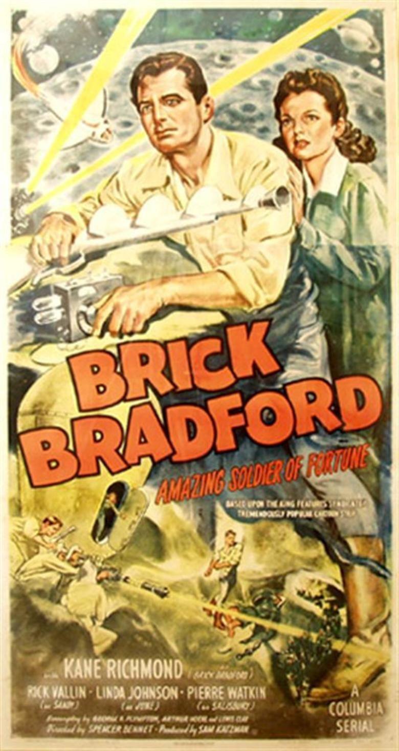 Brick Bradford (serial) movie poster