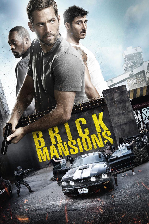Brick Mansions movie poster