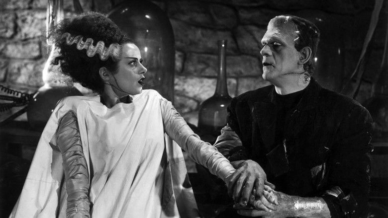 Bride of Frankenstein movie scenes
