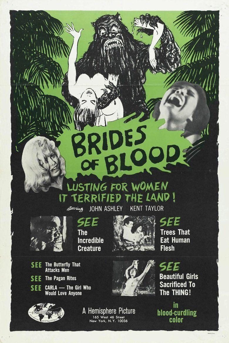 Brides of Blood movie poster