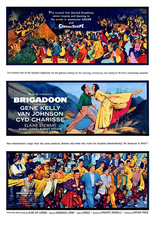 Brigadoon (film) movie poster