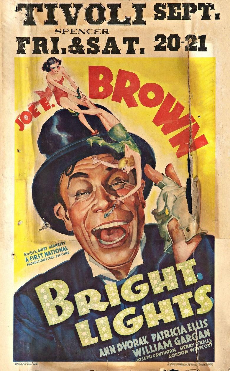 bright lights 1935 film movie poster