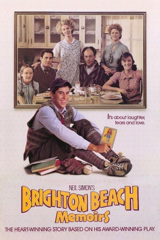 Brighton Beach Memoirs (film) movie poster