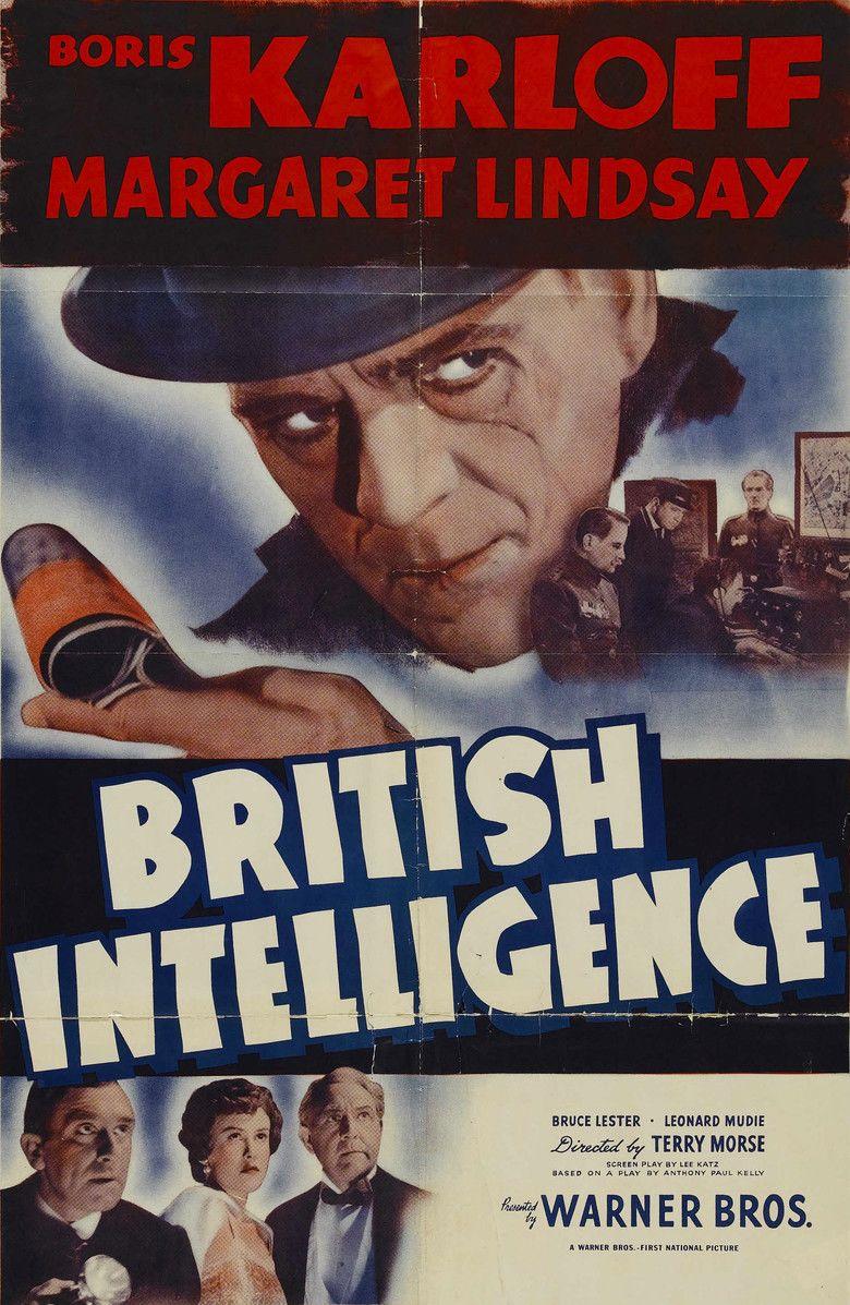 British Intelligence (film) movie poster