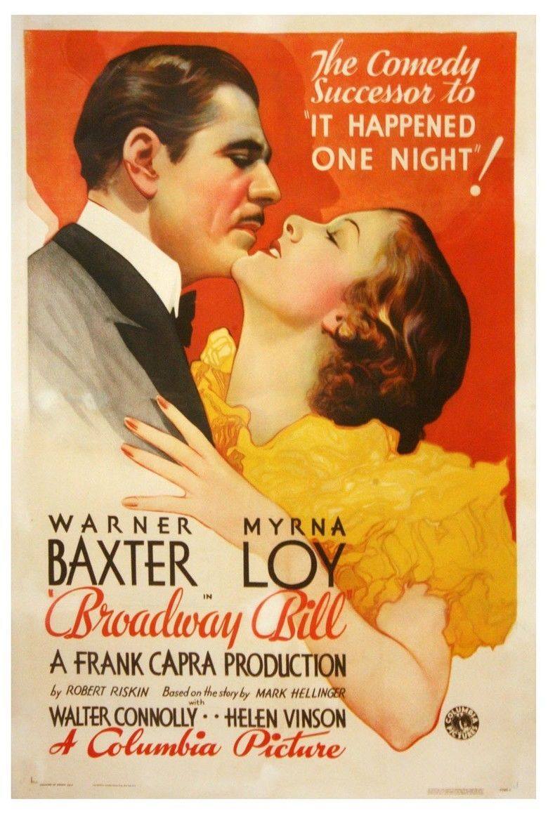 Broadway Bill movie poster