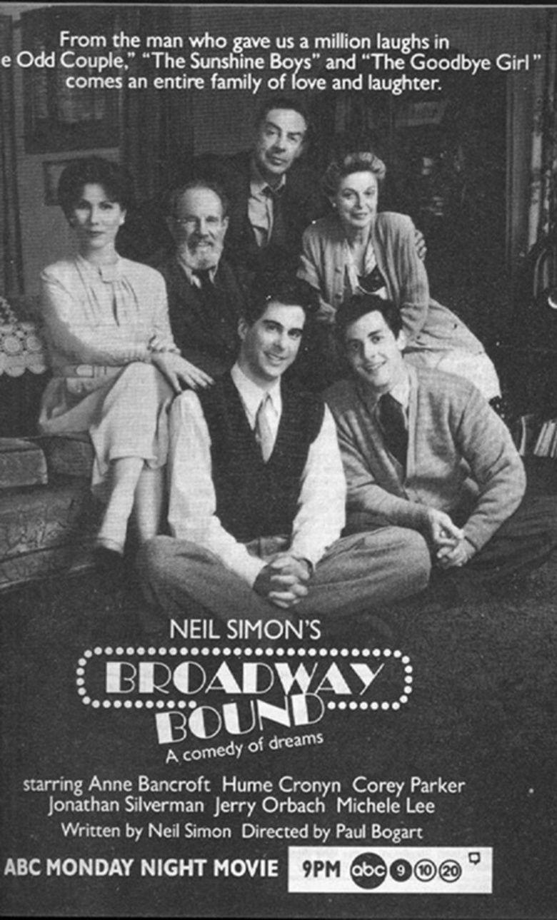 Broadway Bound (film) movie poster