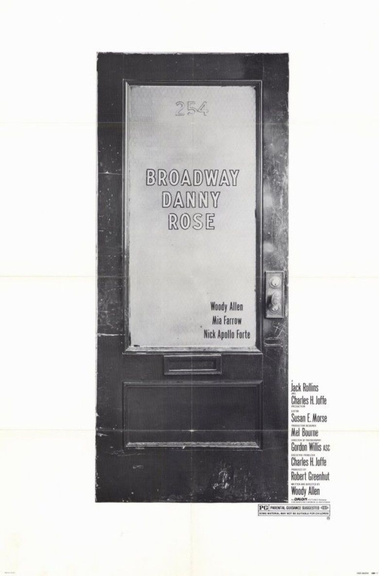 Broadway Danny Rose movie poster