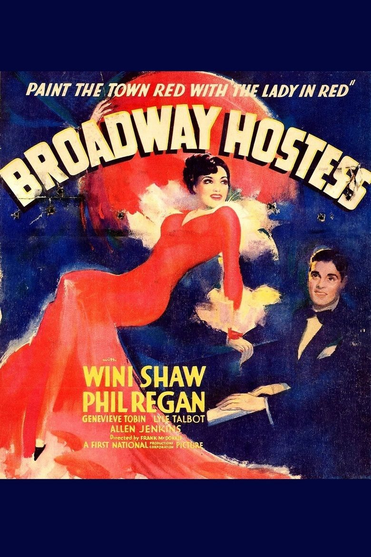 Broadway Hostess movie poster