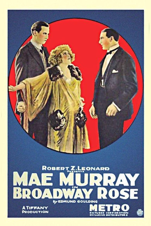 Broadway Rose (film) movie poster