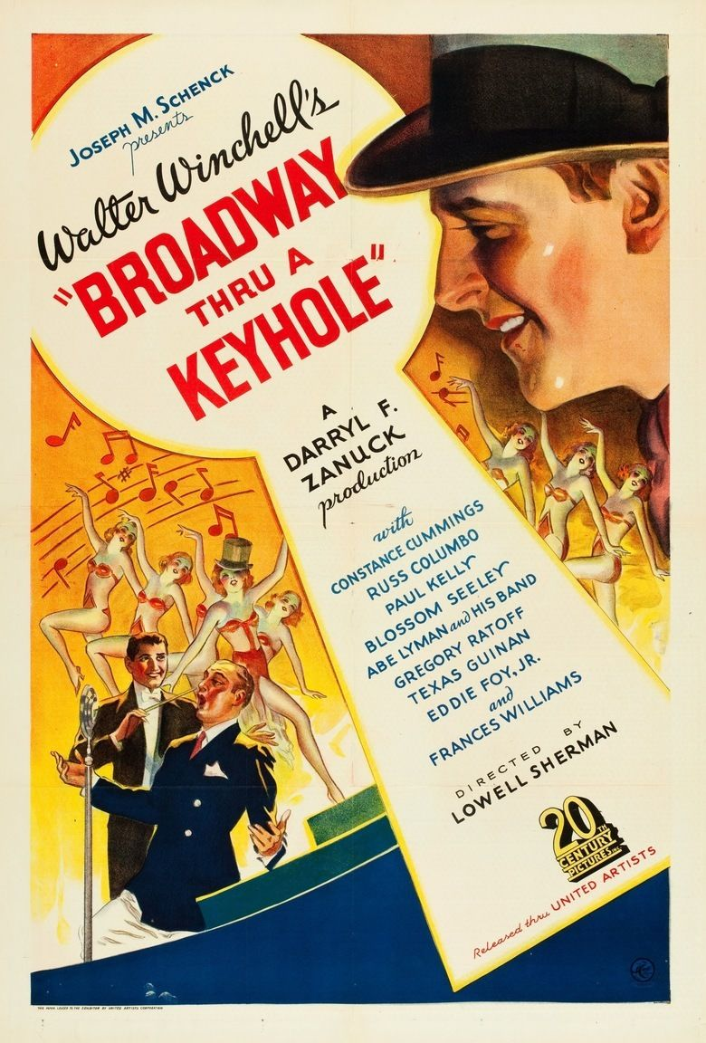 Broadway Through a Keyhole movie poster