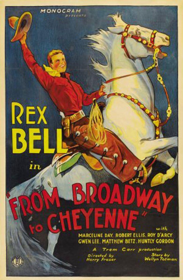 Broadway to Cheyenne movie poster