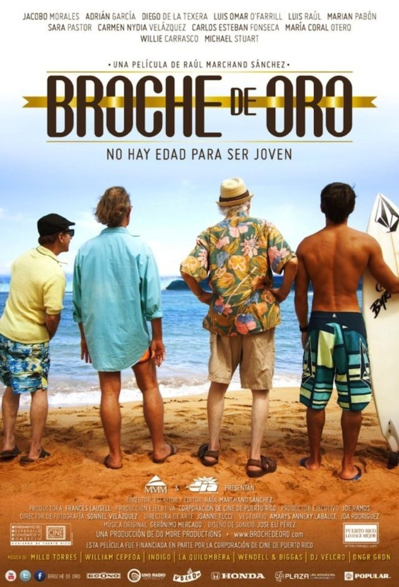 Broche de Oro movie poster