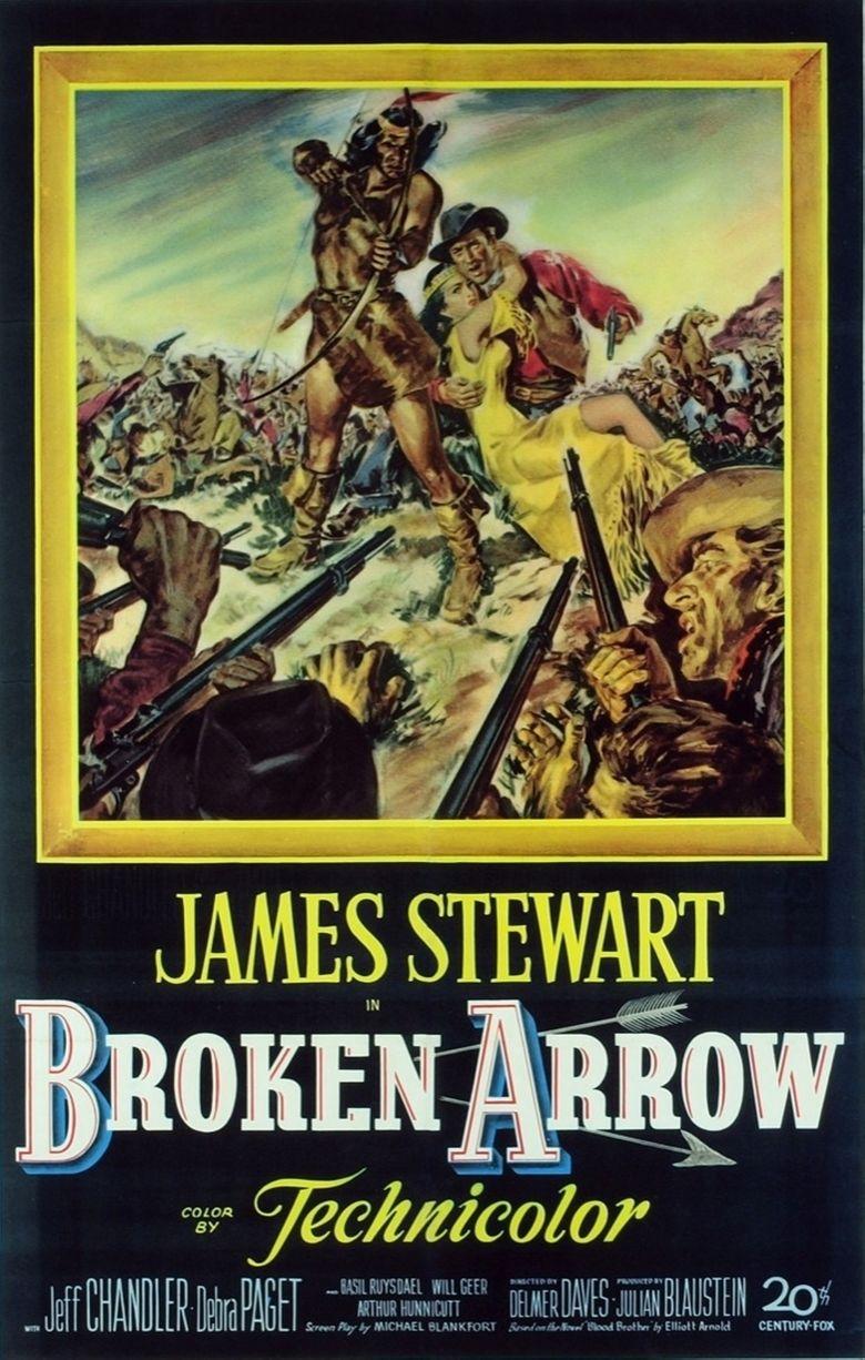 Broken Arrow (1950 film) movie poster
