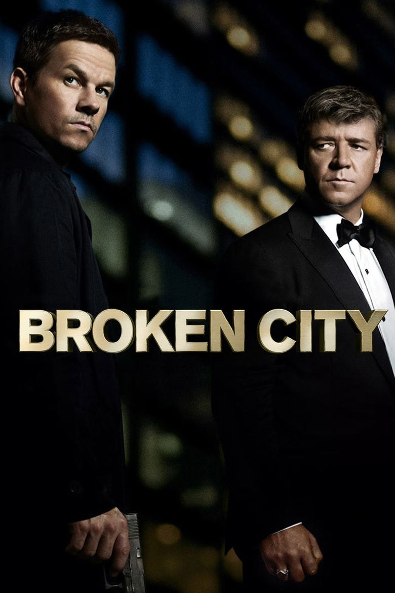 Broken City (film) movie poster
