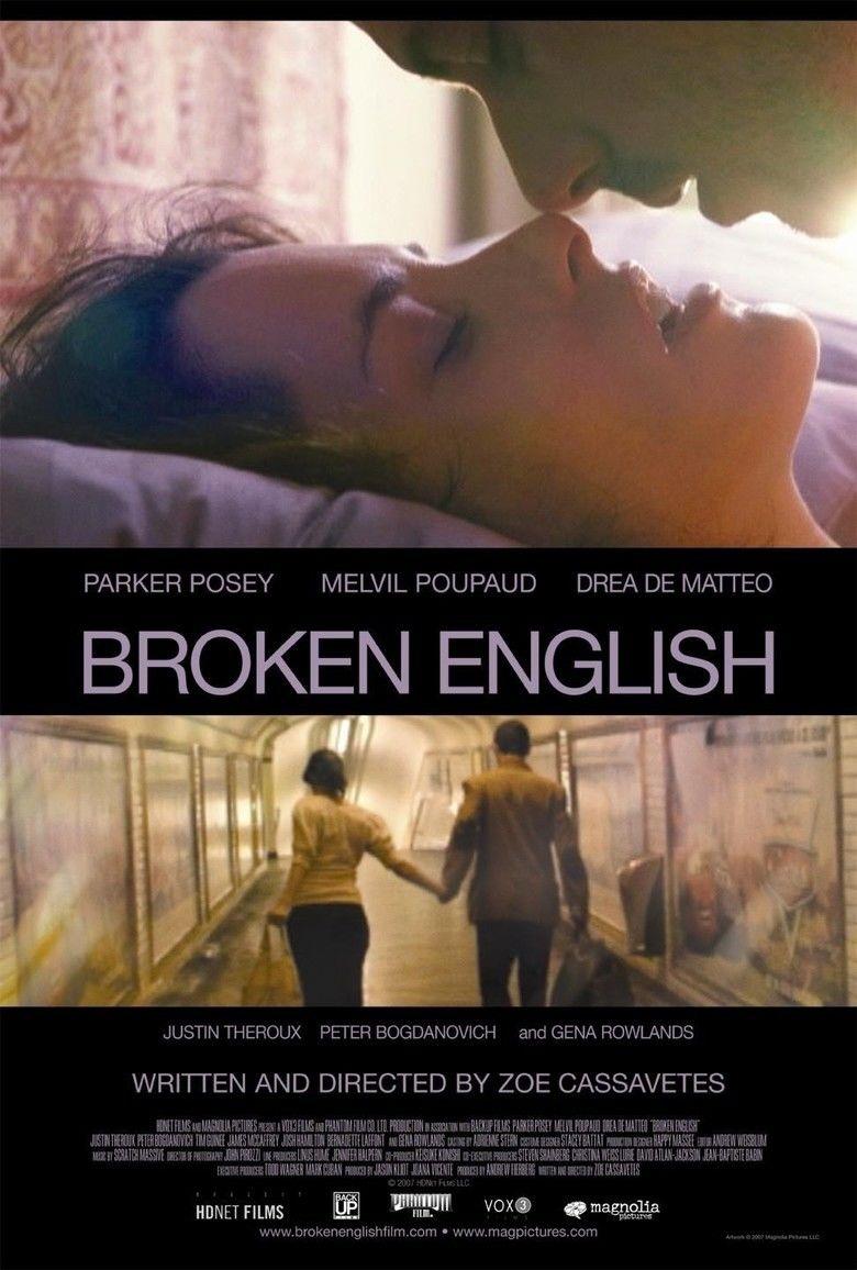 Broken English (2007 film) movie poster