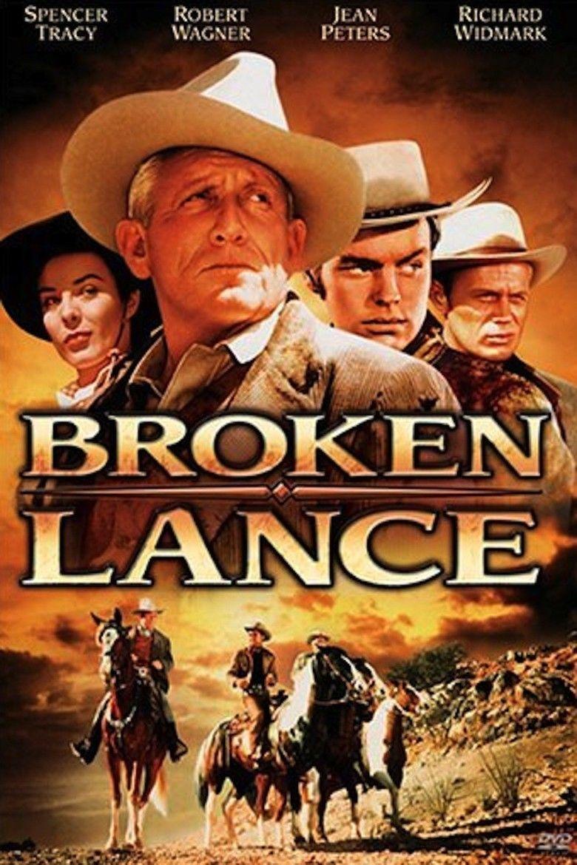 Broken Lance movie poster