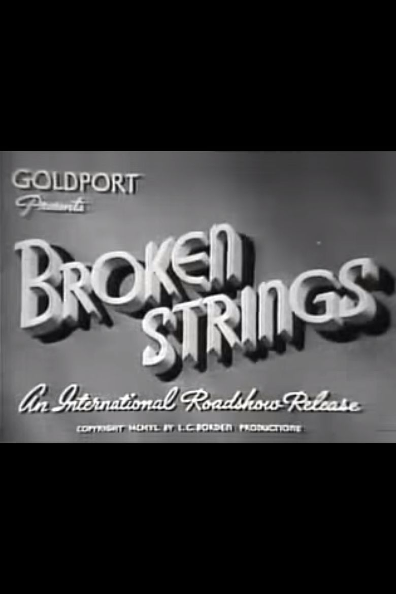 Broken Strings (film) movie poster