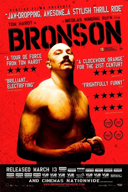 Bronson (film) movie poster