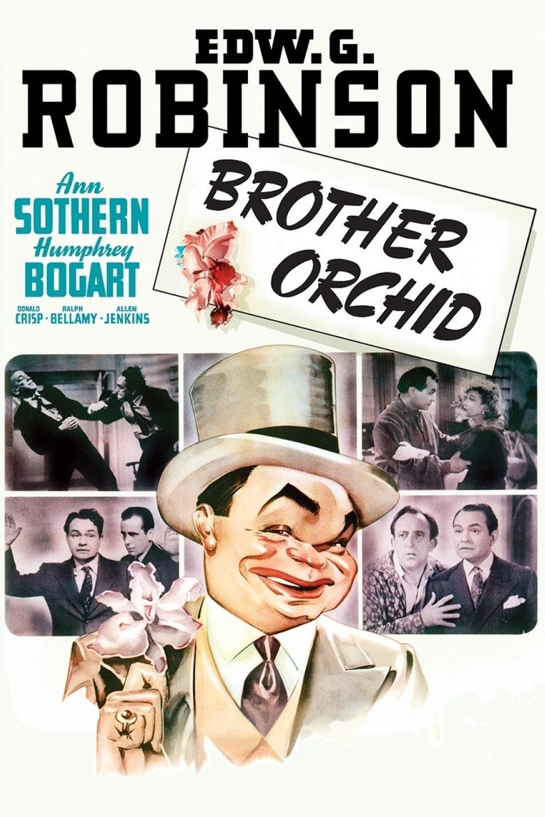 Brother Orchid movie poster