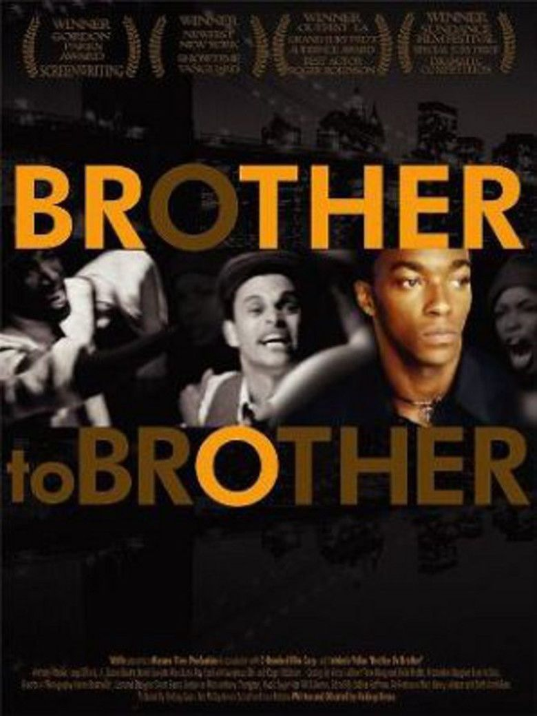 Brother to Brother (film) movie poster