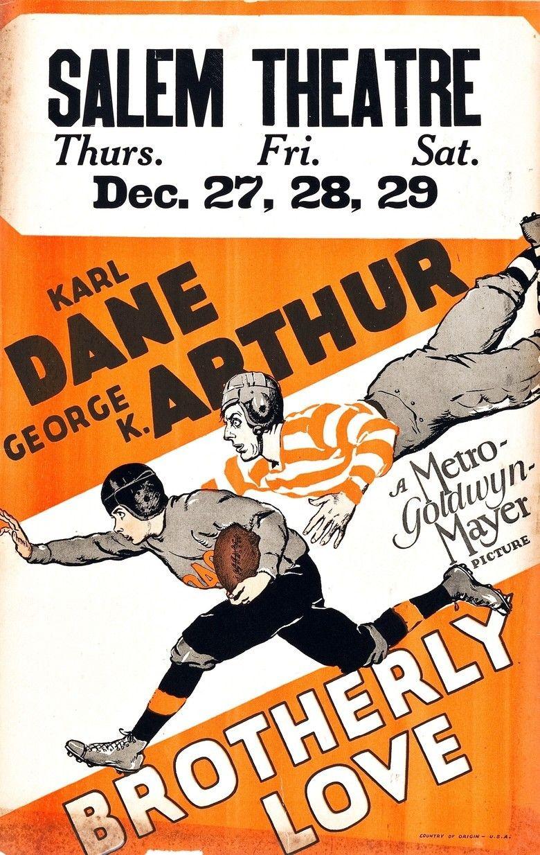 Brotherly Love (1928 film) movie poster