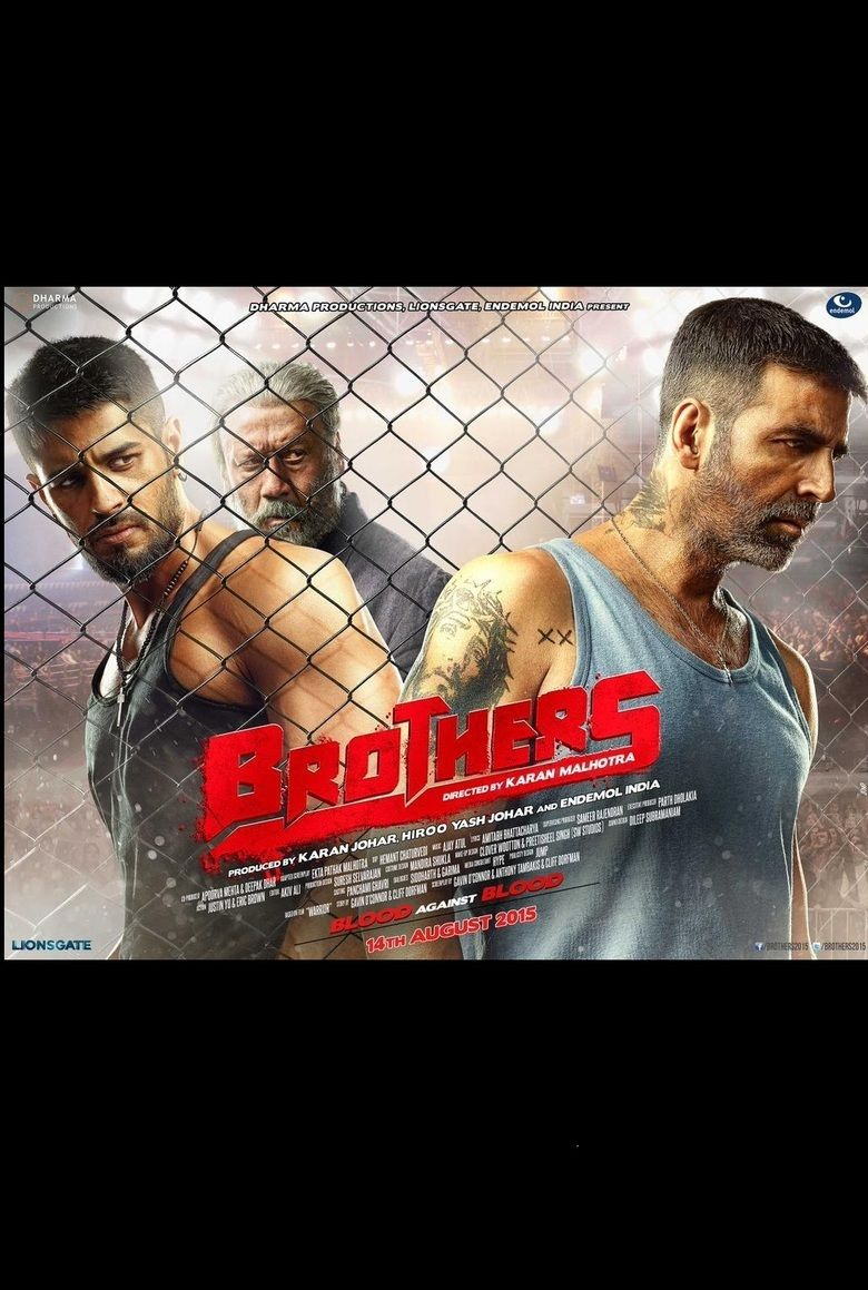 Brothers (2015 film) movie poster