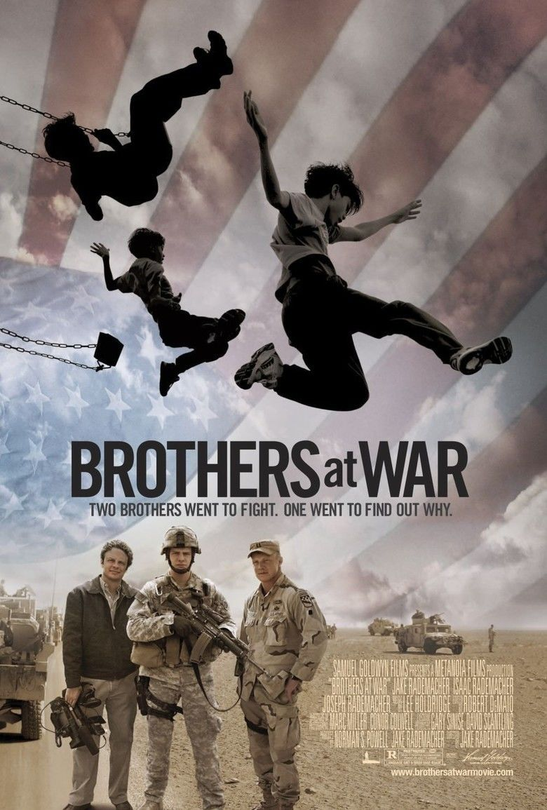 Brothers at War movie poster