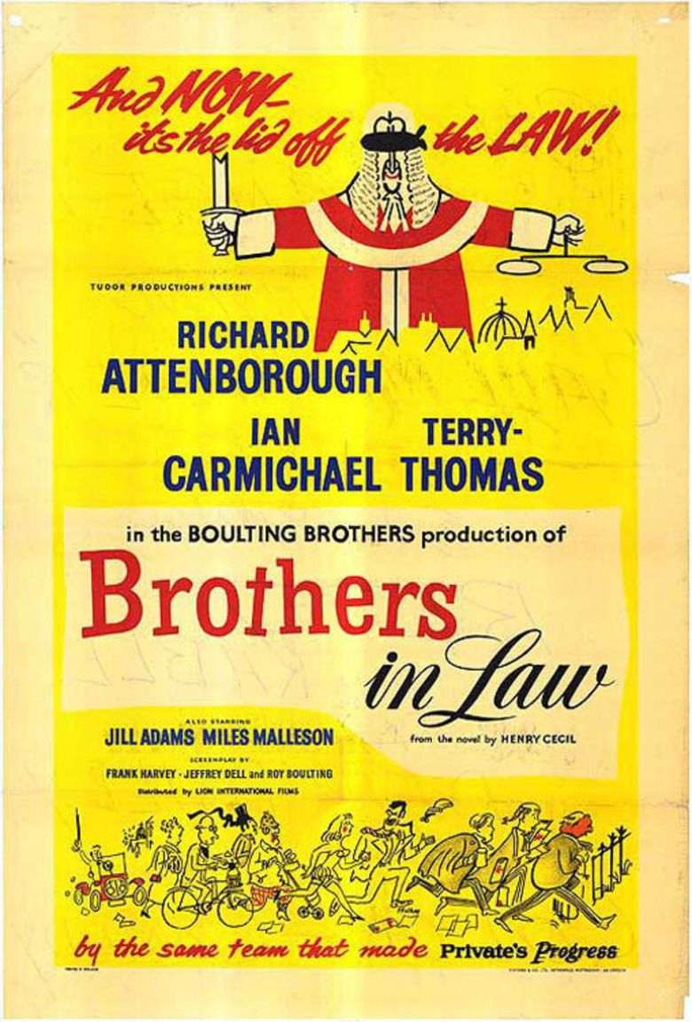 Brothers in Law (film) movie poster