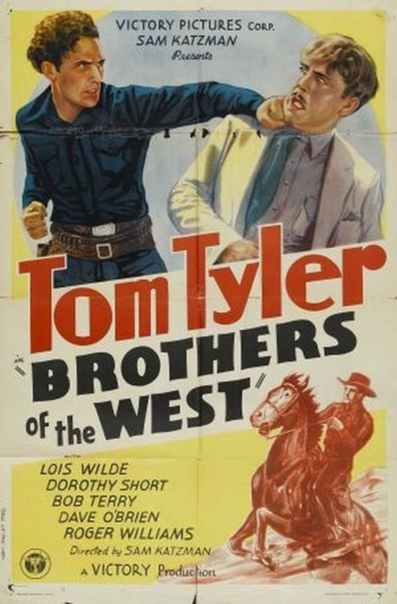 Brothers of the West movie poster