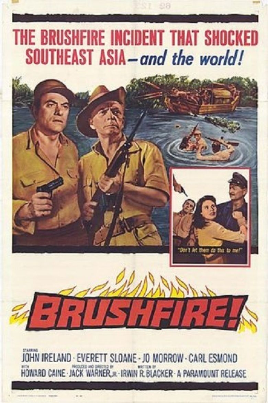 Brushfire (film) movie poster