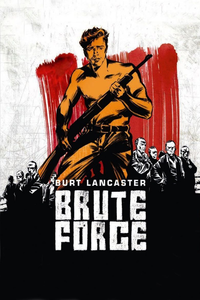 Brute Force (1947 film) movie poster
