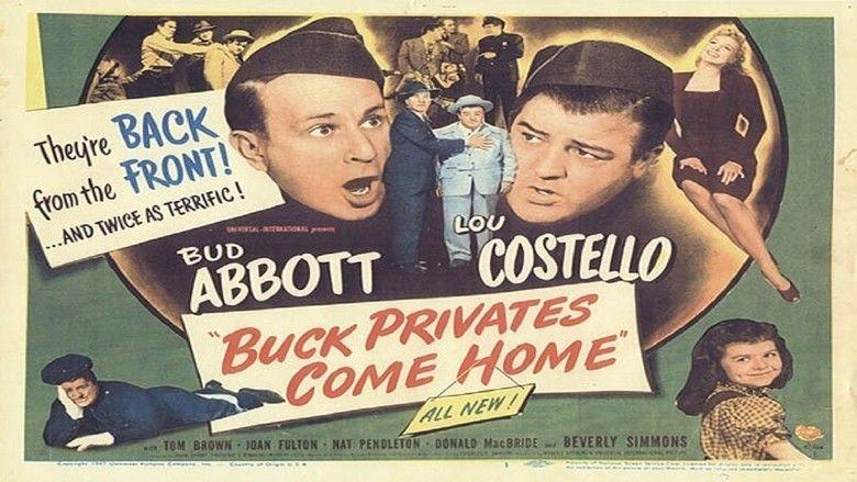 Buck Privates Come Home movie scenes