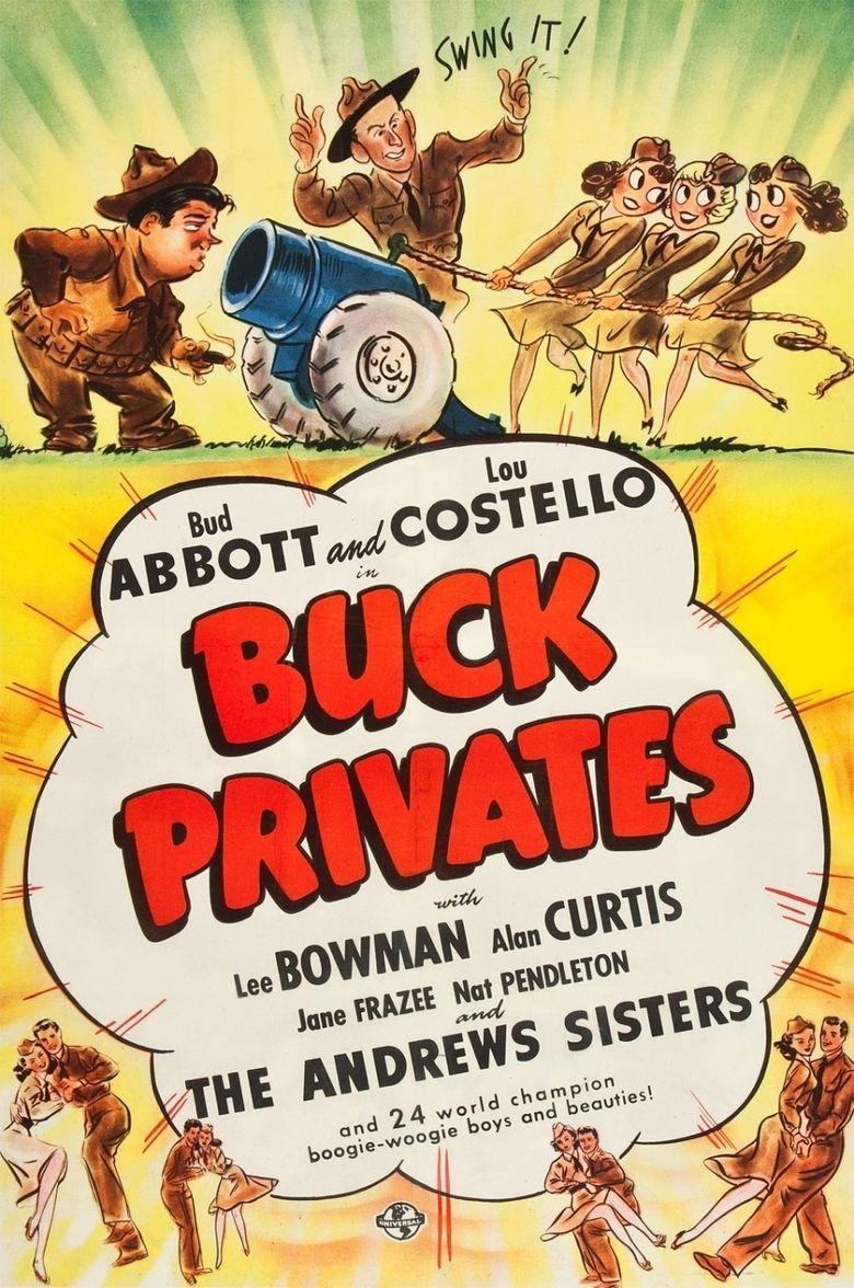 Buck Privates movie poster