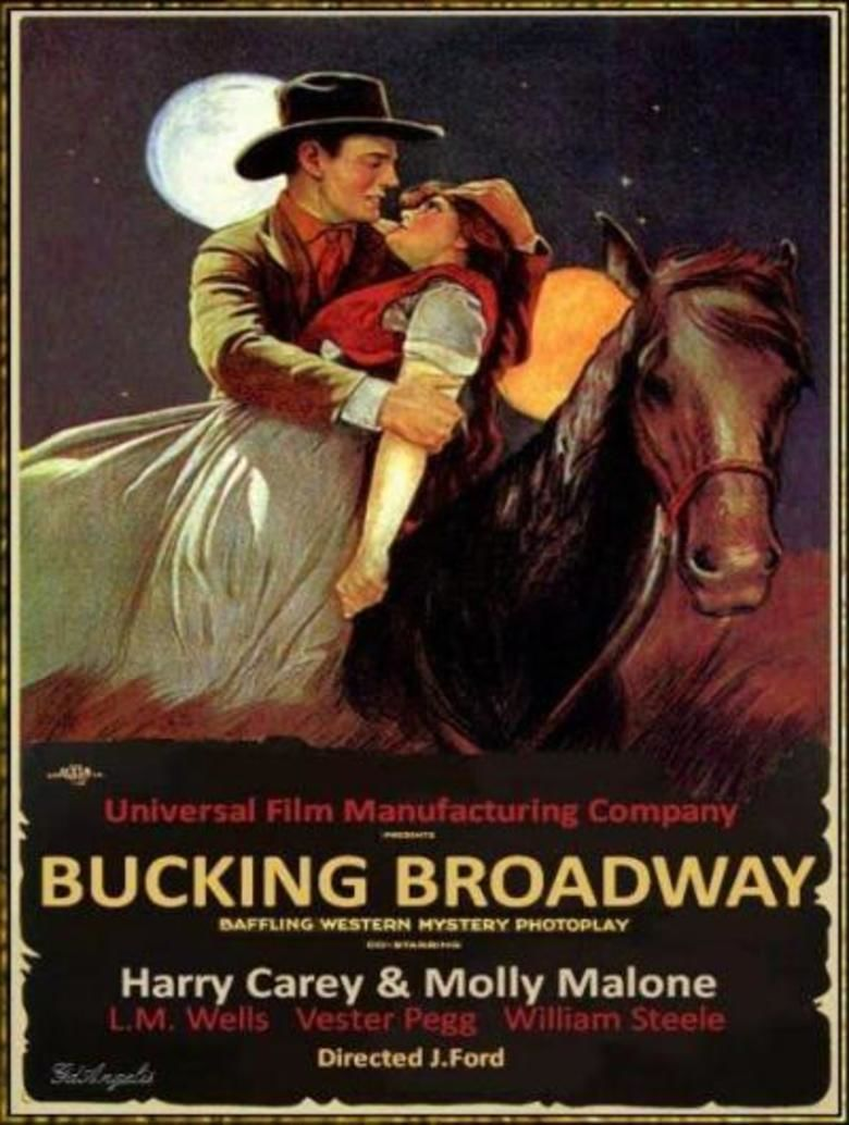 Bucking Broadway movie poster