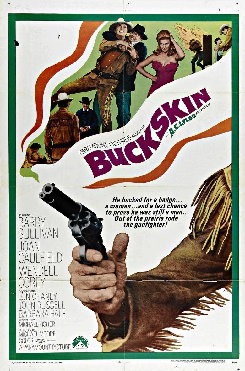 Buckskin (film) movie poster