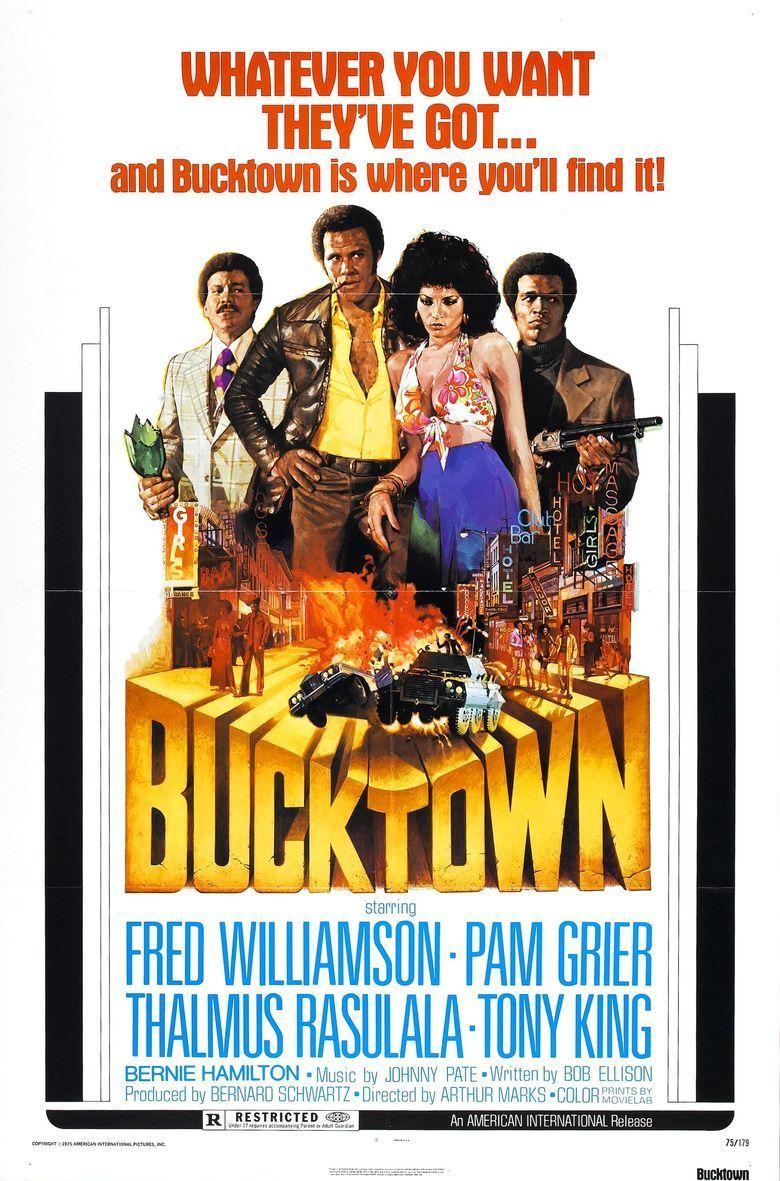 Bucktown (film) movie poster