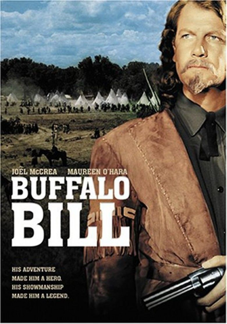 Buffalo Bill (film) movie poster